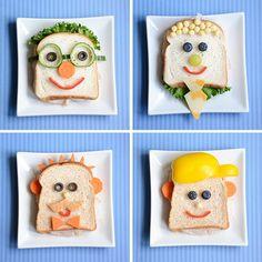 Babalarımızın bazıları gözlük, bazıları şapka, bazılarıysa kravat ve papyon takar. Onlara sevdikleri malzemeden tiplerine uygun sandviçler hazırlamaya ne dersiniz? Kendileriyle yüzleşince çok şaşır…