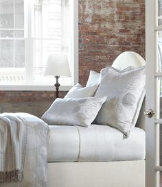 Oyster Bay - A contemporary take on traditional bedding