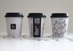 Mokkaccino Crafts by HiredMonkeez #coffee #design #fooddesign