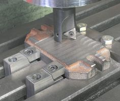 Low Profile Clamps, for use on the Milling Machine Table