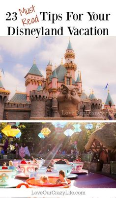 Tips for your Disneyland Vacation. Great quick read of tips that will help make your Disney vacation even better. via @thebeccarobins