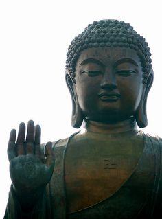 The Tian Tan Buddha statue at Po Lin Monastery