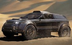 The 2012 Land Rover Range Rover Evoque will enter the Dakar Rally in 2013