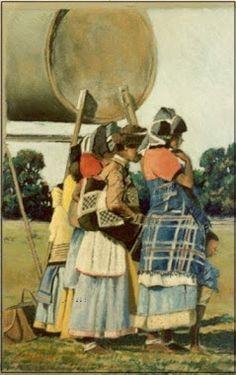 Xhosa Ladies - pastel Xhosa, John Smith, Love Art, South Africa, Pastel, Paintings, Artist, Cake, Paint