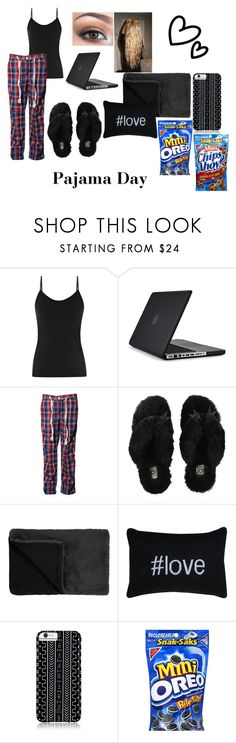 """""""Pajama Day!"""" by sadiemay42 ❤ liked on Polyvore featuring Reiss, Speck, Superdry, UGG Australia, NARS Cosmetics, Park B. Smith and Savannah Hayes"""