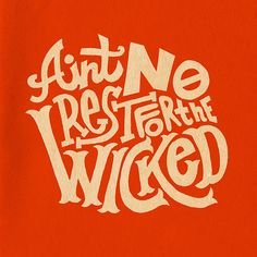 No Rest by Jay Roeder, via Flickr