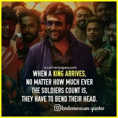 Top 10 Rajinikanth motivational quotes and dialogues Rajinikanth Quotes, Star Quotes, Real Life Quotes, Motivational Quotes For Life, Self Respect Quotes, Move In Silence, Fire Painting, Super Star