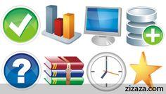 Icon set - Iconset: Aesthetica Part 1 - Zizaza item for free