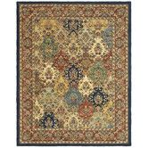 Found it at Wayfair - Heritage Multi & Burgundy Area Rug