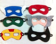 Máscara Infantil Heróis