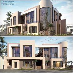 Cro-Asian Modern Architecture Design, Facade Architecture, Residential Architecture, Modern House Design, Duplex Design, Villa Design, Flat Roof House, Facade House, Interior Exterior