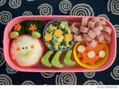 How to Make a Caterpillar Bento Lunch Box | Parenting