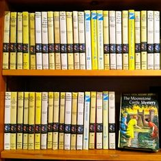 A Nancy Drew collection at Hello Hello Books in Rockland Maine