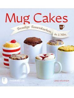 Diese Tassenkuchen brauchen nur ein paar Minuten in der Mikrowelle, perfekt, um währenddessen einen Tee zu kochen! www.pitea.de