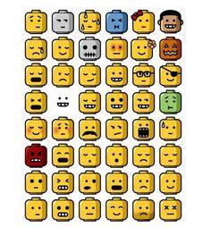 Caras legos