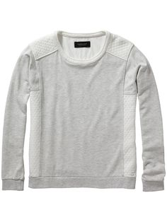 Trui van sweatstof | Sweat | Dameskleding bij Scotch & Soda