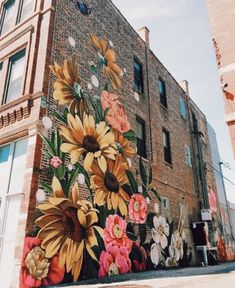 beautiful street art 💐 uploaded by ariel 🔮 on We Heart It Banksy Girl, Pinturas Disney, Of Wallpaper, Oeuvre D'art, Pretty Pictures, Art Inspo, Vsco, Art Drawings, Cool Art
