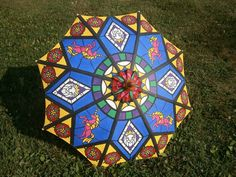 Image result for painted parasol