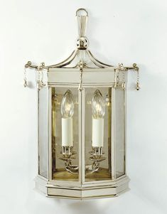 Pagoda Bell Wall Lantern - Product WL 195 | Charles Edwards sconce