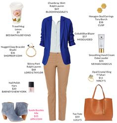 Great outfit...Even down to the adorable travel mug. Want it.  - https://mystylit.com