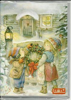 Lisi Martin Weihnachtsdoppelkarte klein   9949