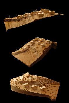 Conjunto de 8 viviendas en Chipinque,  maquette, architectural model, maqueta, modulo