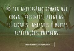 Mensagens de otimismo, amor, amizade, agradecimento, aniversário, etc, vou gostar muito da opinião de todos http://www.mensagemdeotimismo.net . Obrigadaa!!