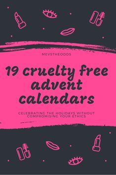 Looking for cruelty free beauty advent calendars but don't know where to look? Here is a list of 19 advent calendars ranging starting at Beauty Advent Calendar, Advent Calendars, Calendar 2018, Cruelty Free Makeup, Vegan Lifestyle, Natural Beauty, Nature, Beauty Products, Blogging