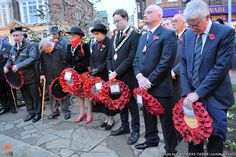 Norman Lamb MP attends remembrance Sunday in Cromer, on the North Norfolk coast of the UK.