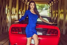 Mustang Girl Monday: Grace Victoria Williams and her 2009 Mustang GT Premium convertible 2009 Ford Mustang, Mustang Girl, Girls Gallery, Convertible, Pin Up, Dresses For Work, Victoria, Mustangs, Beautiful