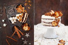 Beschwipste Birnen Kokos Torte & Cranberry Rosmarin Shrub (Werbung)