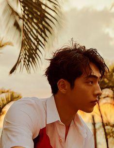 "Nam Joohyuk // W Korea Magazine 2018 March Issue ""Aloha Days Nam Joo Hyuk Tumblr, Nam Joo Hyuk Cute, Joon Hyung, Park Hyung Sik, Jong Hyuk, Lee Jong Suk, Asian Actors, Korean Actors, Nam Joo Hyuk Wallpaper"
