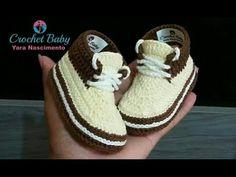 alpargatas tejidas a crochet - diseño panda-bordado - punto de cruz - YouTube