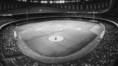 Twins vs Astros exhibition at the Superdome - April 6 1976.  New Orleans tried to get the A's franchise in 1981.