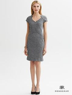 BR Monogram Allison dress   Banana Republic.  It's named after me, so I need it, right?