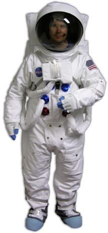 Astronaut Costumes for Adults: Deluxe Apollo Astronaut Spacesuit