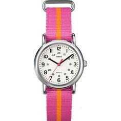 Timex Weekender Slip Thru Nylon Strap Watch - Blue/Yellow Adult Unisex Cool Watches, Watches For Men, Atm, Timex Watches, Women's Watches, Sport Watches, Jewelry Watches, Online Watch Store, Stainless Steel Watch