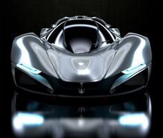 "UK Designer Mark Hostler envisions this incredible ""LaMaserati"" concept car, based on the LaFerrari platform. The LaMaserati carries over the same 6.3-lite..."