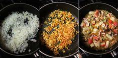 Empanadas de mariscos Grains, Rice, Food, Potato Patties, Food Recipes, Cuisine, Chilean Recipes, Oven, Daily Journal