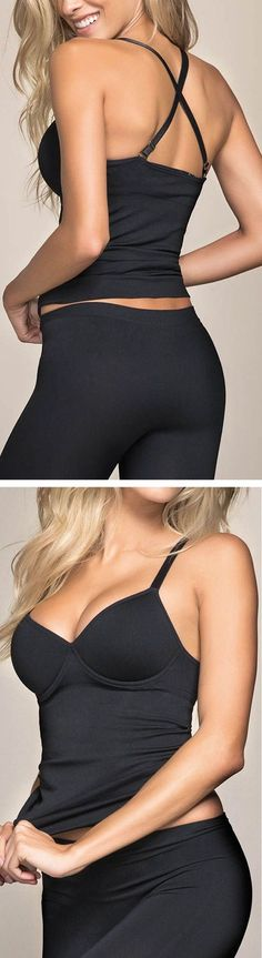 Love this Scala Shapewear! It's seamless, shapes the body, and is clinically proven to reduce cellulite! #fitness #workout #clothing