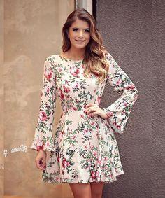 WEBSTA @ arianecanovas - Floral mais lindo @donnaritzoficial Vestido delicadinho do jeito que a gente ama!