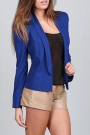 Cobalt Tuxedo Blazer