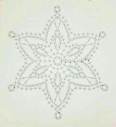 Crochet Snowflake Pattern, Crochet Stars, Crochet Snowflakes, Thread Crochet, Crochet Stitches, Crochet Christmas Decorations, Crochet Decoration, Crochet Christmas Ornaments, Holiday Crochet