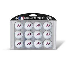 Atlanta Braves MLB Dozen Ball Pack