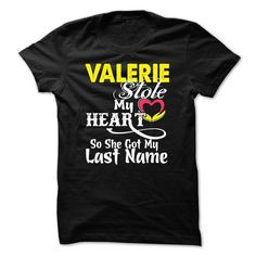 VALERIE stole my heart T-Shirts, Hoodies (19.99$ ==►► Shopping Here!)