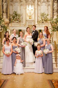 Featured Photographer: Brian Dorsey Studios; bridesmaid dress idea