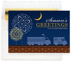 holiday card transportation themed - Google Search