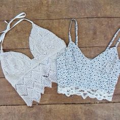How to Chic: LACE AND CROCHET TOPS
