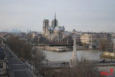 Notre Dame de Paris - Cours photo profondeur de champ - grainedephotographe.com