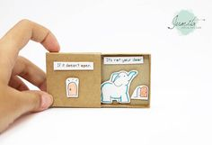 If you want to buy a matchbox, you can see more at: http://jtranj.storenvy.com This listing is for one matchbox. This is a great alternative to a traditional greeting card. Surprise your loved ones with a cute private message hidden in these beautifully decorated matchboxes! Use this